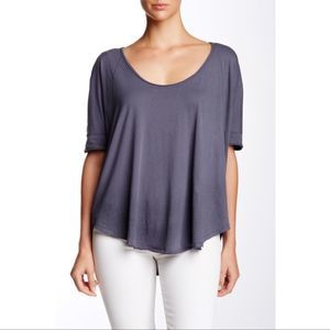Free People We The Free Relaxed Fit Saturn Tee